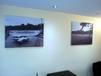 Canvas prints made from your photographs - McQuillan Signs, Brighton.